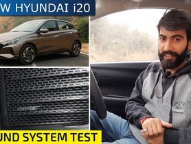 New Hyundai i20 BOSE Sound Setup TESTED - Video