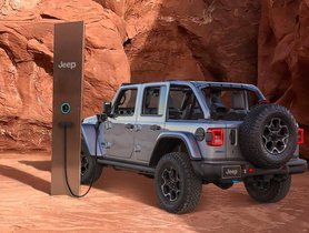Mysterious Utah Monolith Repurposed to Charge Jeep Wrangler 4xe