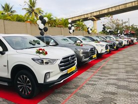 7 Units of MG Gloster Delivered in a Single Day in Cochin
