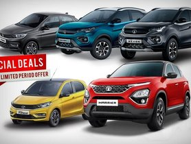 Tata December 2020 Car Offers & Discounts - Tiago to Harrier