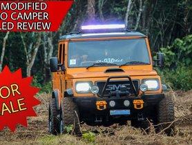 Best Modified Mahindra Bolero Camper Detailed on Tape
