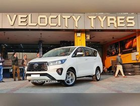 FIRST-EVER Toyota Innova Crysta Facelift With Aftermarket Mags - This Is It!