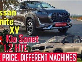 Nissan Magnite XV Vs Kia Sonet HTE - VIDEO