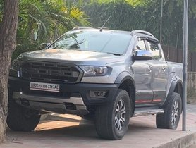 Ford Ranger (Endeavour's Pick-Up Sibling) Spied In India