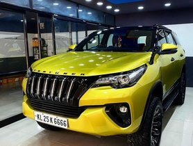 This Modified Toyota Fortuner Looks Pretty OUTLANDISH, Doesn't It?