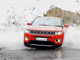 Watch Jeep Compass Overcomes Snow In Spiti