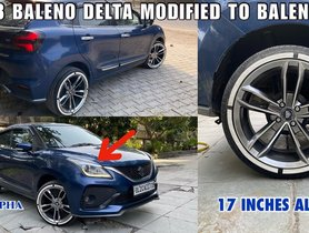 Maruti Baleno Delta EASILY Modified to Now Defunct RS Version
