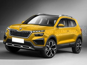 Skoda Vision IN Rendered, Here's How Upcoming Hyundai Creta Rival Will Look Like