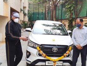 Toyota Innova Crysta Facelift is Latest Addition in Amitabh Bachchan's Garage