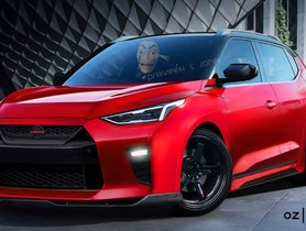 Digitally-modified Nissan Magnite Dons GT-R Like Front Fascia & Bodykit