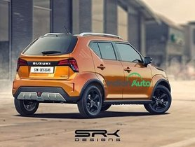 Here's How the Rear Facet of Maruti Ignis Facelift Should've Looked Like?