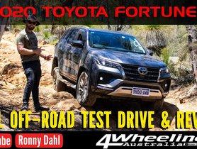 New Toyota Fortuner Goes Proper Off-Roading in Australia - VIDEO