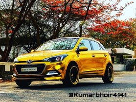 Hyundai i20 'Gold Edition' Is Perfect ANTITHESIS of Dark Editions