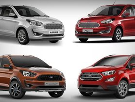 Best Ford Cars Under 10 Lakh in India - Ford Ecosport To Ford Aspire
