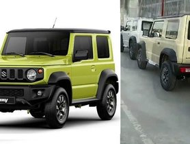 Maruti Jimny's Launch Plan Shared By Engineering Head - Export-spec Model Spotted At Factory