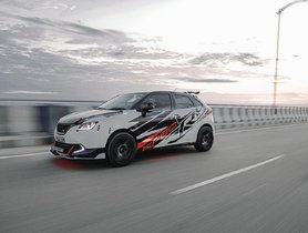 Modified Maruti Baleno from Assam Looks Lean And Mean