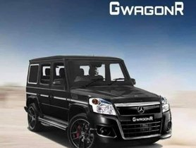 Behold The GWagonR - Maruti Wagon R Rendered With Mercedes G-Wagen Inspiration