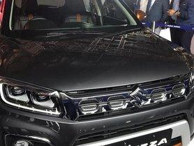 2020 Maruti Vitara Brezza Facelift Unveiled At Auto Expo 2020
