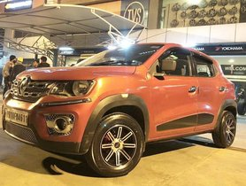 Renault Kwid Looks Striking with These Aftermarket Alloy Wheels