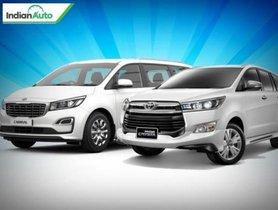 Kia Carnival vs Toyota Innova Crysta: Which One Fares Better?