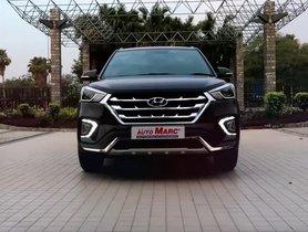 Modified Hyundai Creta Looks Pretty Cool With Red Hot Interior