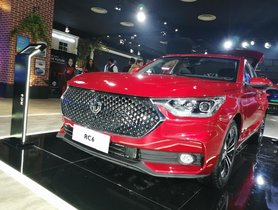 MG's first sedan for India, RC 6, debuts at Auto Expo 2020 - Potential Civic Rival