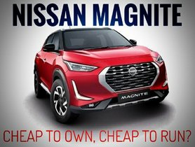 Nissan Magnite to Have Lowest Maintenance Cost, Claims Carmaker