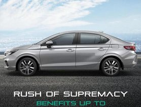 New-gen Honda City Offered with Discounts of Upto Rs 46,000