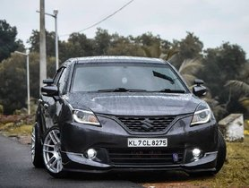 Check Out This Tastefully Modified Maruti Baleno From Kerala