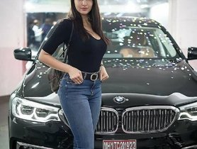 Nora Fatehi Takes Delivery Of Her New BMW 5 Series
