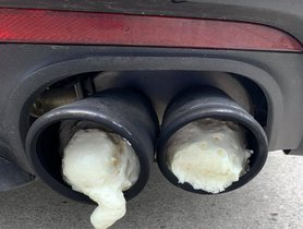 Ford Mustang's Loud Exhaust Filled With Expanding Foam By Angry Neighbours