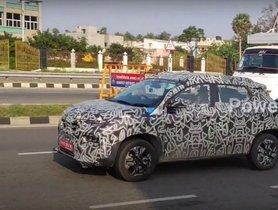 Renault Kiger Spied Under Near-production Form