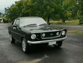 Hindustan Contessa Skillfully Resto-Modded Into A Ford Mustang [Video]