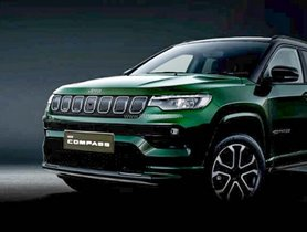 2021 India-Bound Jeep Compass Official Teaser Released