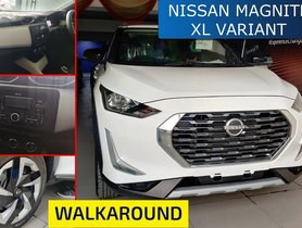 Nissan Magnite XL Trim Detailed On Tape