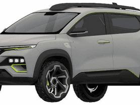 Upcoming Renault Kiger Revealed Via Leaked Patent Images