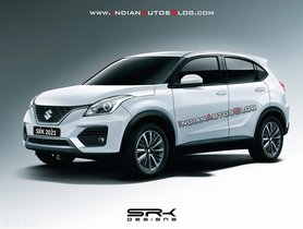 Maruti Baleno Based Compact SUV Rendered, Will Launch This Year