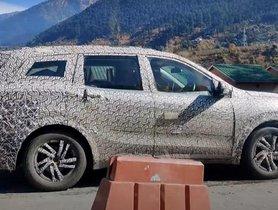 2021 Mahindra XUV500 Spotted Testing Alongside Old XUV500, MG Hector
