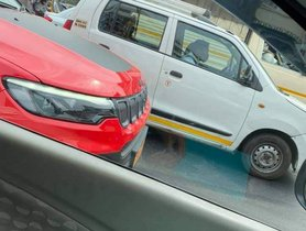 Jeep Compass Facelift (TrailHawk Trim) Spied Testing Ahead of Launch Tomorrow