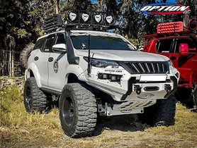 Modified Toyota Fortuner Looks All-set To Conquer Any Terrain