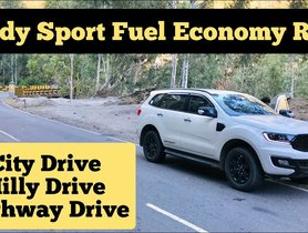 Ford Endeavour 2.0 Real World Fuel Economy Test - VIDEO