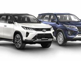 New Toyota Fortuner VS Legender