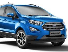 Revised 2021 Ford EcoSport Range Announced