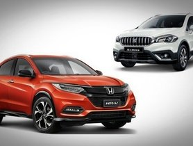Honda HR-V Vs Maruti S-Cross – Which One Is The Better Choice?