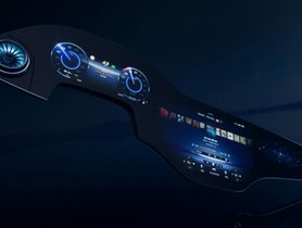 Mercedes S-Class EV To Feature Curved Display Spanning Full Dashboard Width