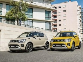 Ignis Facelift for Europe Gets Mild Hybrid System and All-Black Interior