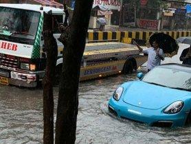 Luxury Cars that Faced the Wrath of Mumbai Floods