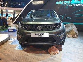 Tata Hexa Safari Edition Showcased at Auto Expo 2020