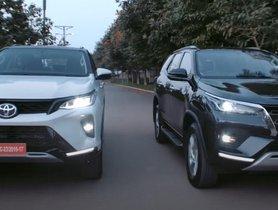 Toyota Fortuner Facelift and Fortuner Legender TVC Released, Shows Interesting Details