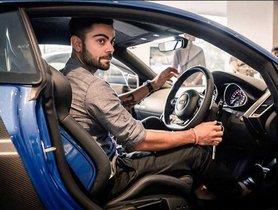[Celebrity Car Collection] Check Out The Impressive Car Collection Of Virat Kohli